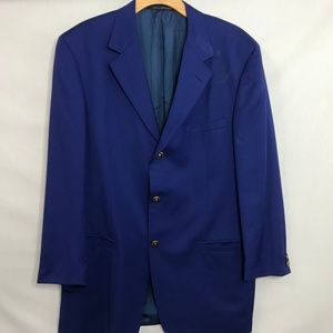 Versace Suits & Blazers - Versace Classic V2 Blue 3 Button Wool Blazer